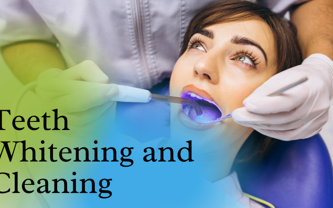 Teeth whitening and Cleaning